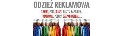 odzież reklamowa, pracownicza i sportowa